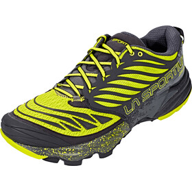 La Sportiva Akasha Chaussures de trail Homme, black/sulphur